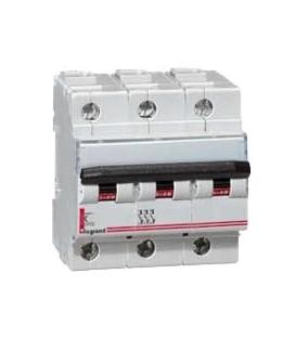 Автоматический выключатель Legrand DX3-E C20A 4п 6000/6kA