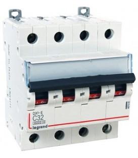 Автоматический выключатель Legrand DX3-E C32A 4п 6000/6kA