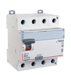 Дифференциальный выключатель Legrand ВДТ DX3-ID 4п 40А 100mА АС