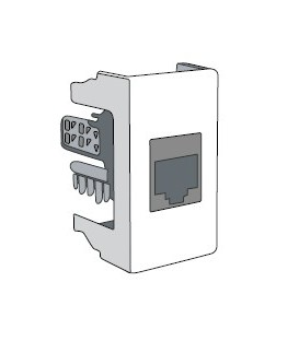 Розетка компьютерная RJ-45 DKC Viva кат.5E (экранированная)