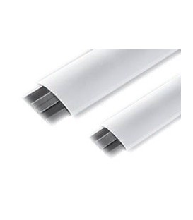 Напольный канал 75х17 мм (белый)