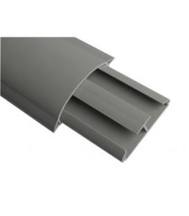 Напольный канал 75x17 мм (серый)