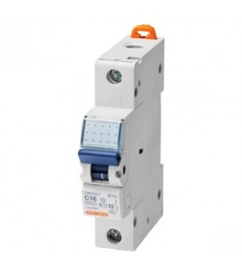 Gewiss Модульный автоматический выключатель серии MT 60, 50 А, 1P, 6кА, характеристика C