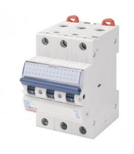 Gewiss Модульный автоматический выключатель серии MT 60, 25 А, 3P, 6кА, характеристика C