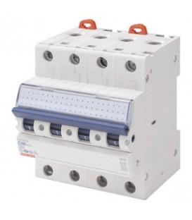 Gewiss Модульный автоматический выключатель серии MT 60, 40 А, 4P, 6кА, характеристика C