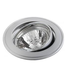 Comtech Corona Светильник галогеновый встраиваемый повор.MR16 1x50W GU5.3 хром/мат.хром/хром