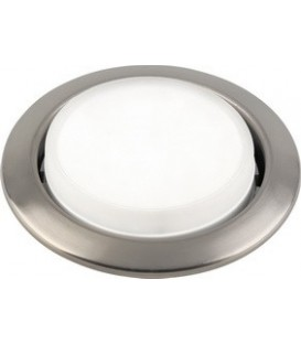 Comtech Corona Светильник точечный штамп.неповорот.,13W,GХ53,220-240V,IP20, золото/никель/золото