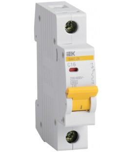 IEK Автоматический выключатель ВА47-29 1Р 63А 4,5кА х-ка С