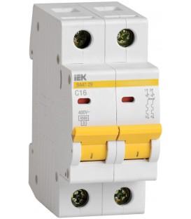 IEK Автоматический выключатель ВА47-29 2Р 25А 4,5кА х-ка С
