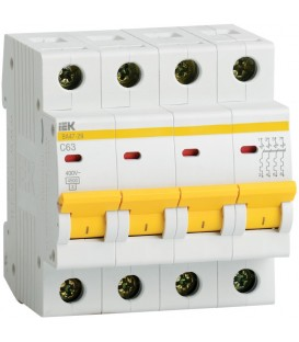 IEK Автоматический выключатель ВА47-29 4Р 16А 4,5кА х-ка С