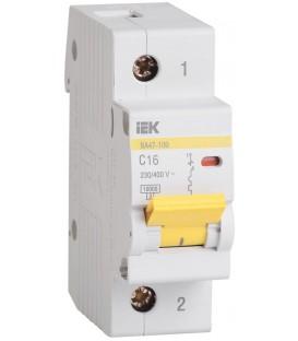 IEK Автоматический выключатель ВА 47-100 1Р 80А 10 кА х-ка С