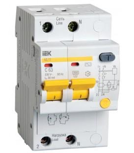 IEK Дифференциальный автомат АД12 2Р 32А 30мА