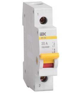 IEK Рубильник модульный ВН-32 1Р 32А выключатель нагрузки