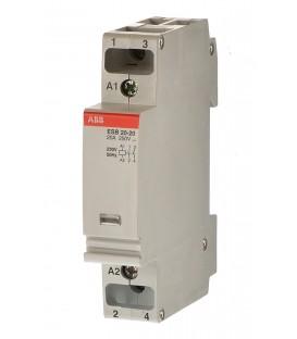 Модульный контактор ABB ESB-20-20 (20А AC1) 220 В АС