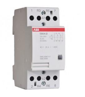 Модульный контактор ABB ESB-24-22 (24А AC1) 220В АС/DC