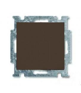 Выключатель одноклавишный ABB Basic 55, шато-черный