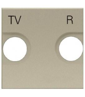 Розетка TV-R оконечная ZENIT (шампань)