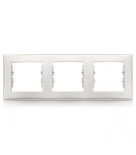 Рамка 3-я Unica Белый