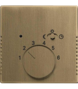 Терморегулятор ABB Dynasty c датчиком пола (античная латунь)