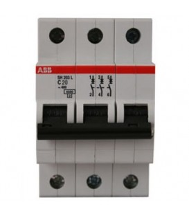 Автоматический выключатель ABB SH203L 6A