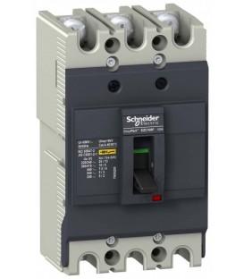 Силовые автоматические выключатели EasyPact EZC Schneider Electric
