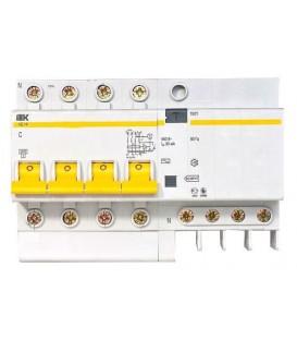 Дифференциальные автоматы четырехполюсные АД14